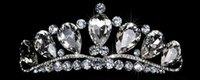 Cheap 2015 Elegant Wedding Bridal Accessories Tiaras Crowns Sparkling Rhinestone Crystal New Design Artificial Tiaras Hair Accessories