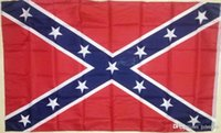 Wholesale 2015 hot sale ft mp DHL shipping Confederate States Rebel Flags Confederate Rebel Civil War Flag National Polyester Flag