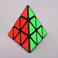 Wholesale Brand New Shengshou Triangle Pyramid Pyraminx Magic Cube Standard Speed Puzzle Twist Cubes Educational Toys