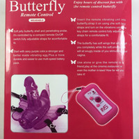 Cheap butterfly wireless vibrator