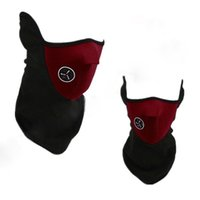 Wholesale DHL Big Discount Thermal Neck Warm Fleece Balaclavas Cs Hat Headgear Winter Ski Mask Ear Windproof Warm Face Motorcycle Bicycle Scarf