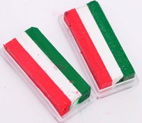Wholesale Cosplay props face paint The World Cup face paint fans paint Face and Body Paint Makeup Three color bar face paint fans cheer products