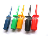 Wholesale 120 Small Test Clip for Multimeter Color Repair Tool