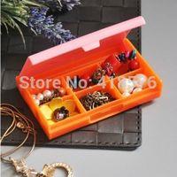 Cheap Hello Kitty Cartoon Multi-functional Plastic Storage boxes For Jewelry Organizer Pill Box