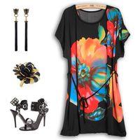 plus size bodycon - 2015 Plus Size Women Summer Dress Skirts d Printed Vestidos Bohemian Party Dresses Casual tropical Dress Desigual Bodycon Bangage Dress