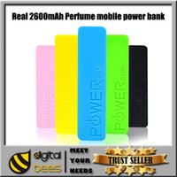 best iphone battery backup - Best Selling Universal mAh Portable Perfume USB Power Bank External Backup Battery Charger Emergency Travel Power Pack for Mobile IPhone