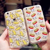 banana cookies - I6P081 Hot Sale Popcorn Chips Banana Cookies Cute Black Kitten Plastic Back cover case Phone Case For iphone Plus quot