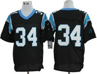 Wholesale Williams jersey Mens Williams football jerseys Panther jersey Cheap football jerseys Carolina jerseys embroidery Mix Order