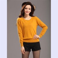 Pullover 100 cashmere sweater - 100 Mink Cashmere Sweater of Women s Knitted Bottom Autumn Winter Style Fashion Mink Cashmere Sweater Exempt Postage L013