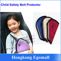 Wholesale Car Child Safety Cover Shoulder Harness Strap Adjuster Kids Seat Belt Clip Child Resistant Safety Belt Protect A848