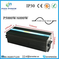 5000W ac inverter efficiency - CE RoHS Approved high efficiency DC V V to AC V V Off Grid Pure Sine Wave W Solar Power Inverter