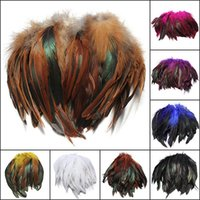 Wholesale Fluffy Fashion Rooster Feathers cm Fringe Beauty Decorations Home Feather Craft Party DIY Accessories