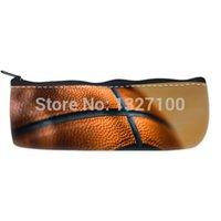 basketball pencil case - High grade basketball Custom Pencil Case Bag Comfortable