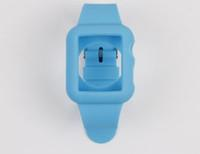 Wholesale Cell Phones Accessories Wearable Technology Smart Accessories Cases Colorful Silicone WatchBand Case