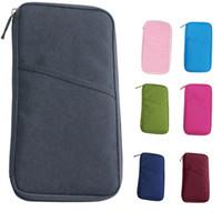 best travel tickets - Hot Salw Best seller Travel Bag Multipurpose Wallet Purse Plane Ticket Folder Passport Travel Bag Documents Storage Bag
