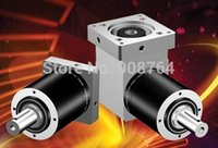 angle gear box - 2016 New Hot Selling High Quality WPL120L2 P2 S2 shaft mm right angle planetary reducer steel gear box gearhead for servo motor