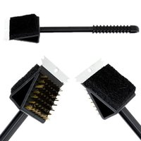 bbq brush scraper - New Arrival inch Scraper Bristles Cleaning Brush For Barbecue BBQ Oven Grill order lt no track