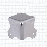 Wholesale pieces metal corner bracket square corner wooden furniture packbag corner Airlines luggage Corner hardware