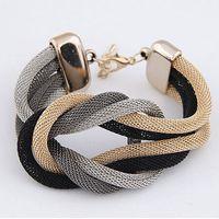 Wholesale Europe America Exaggeration Personality Metal Concise Star Temperament Establishment Bracelets Accessory for women
