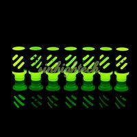 air flow logo - 510 Drip Tip VIP LOGO noctilucent Aluminum Drip Tips Adjustable air flow Wide Bore Drip Tip for RAD EE2 DCT Vivi Nova ecigs