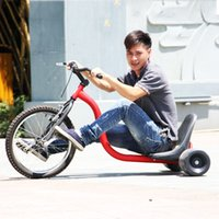 adult tricycle bike - Tricycle Drifting Trike for Adult Front Wheel Steel Fram Good Quality