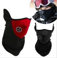 Wholesale 500pcs HOT sale colors Neoprene Snowboard Ski Cycling Face Mask Neck Warmer Bike Bicyle ski mask Motorcycle Bicycle Scarf D475