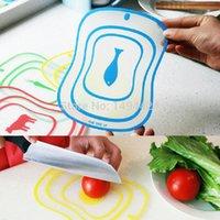 Wholesale 1PC Flexible Ultra Thin Kitchen Tool Fruit Vegetable Cutting Chopping Board Mat Block cooking tool cozinha Color Random