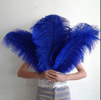 wedding decorations - 13colours DIY Ostrich Feathers Plume Centerpiece for Wedding Party Table Decoration Wedding Decorations hot selling CM