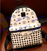 mcm bag - Brand Black and Winter MCM BackPacks MCM Bags women Classic Backpack new mcm style bags