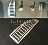 Wholesale Stainless Steel Foot Rest Pedal cover For Ford Focus MK2 Focus MK3 Fiesta Kuga Ecosport Mondeo Footplate Footboard Pedal