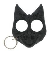 Wholesale Evil Cat Keychain fingers Key Knuckles Punch button
