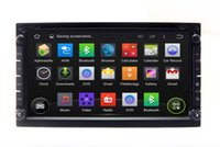 Wholesale 6 quot Android Din Head Unit Car DVD Player GPS Navigation with Radio BT TV MP3 Auto Audio Video Stereo WIFI