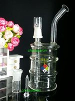drum - black oil drum rig glass oil pipe recycle Glass water pipes mini rig glass bong smoking Glass hookahs Interface mm