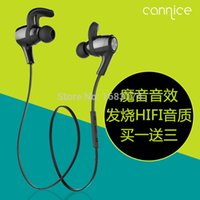 audio earplugs - Cannice Y3 Running Sport Wireless Bluetooth Earphone In Ear Earplugs Headphone Stereo Audio Double Track Headset for SmartPhones