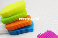 Wholesale Silicone Basting Cooking Pastry Brush Kitchen heat resistance silicone BBQ brush