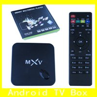 Cheap MXV TV Box Best Android TV Box