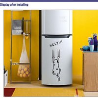 Wholesale Fairy Wall Stickers Cartoon Child Real Refrigerator Kitchen Cabinet Wall Stickers Tile Furniture Glass Stickers