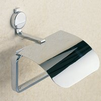 Wholesale Roll Holder Wall Mounted Chrome Bathroom and Kitchen Toilet Paper Holder with Brass For Sale