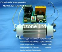 Wholesale improved KHT GWOA2 Ceramic Tube Ozone Generator for Air and Water Treatment AC220V