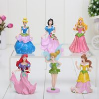princess belle flash - New Ariel Cinderella Snow white Belle Cartoon Flash Princess Figure