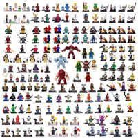Wholesale 2015 NEW Marvel Super Heroes Star Wars Movie Ninjago TMNT Figures Bricks Building Blocks Minifigures Bricks Toys for Children A2