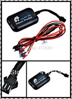 Wholesale 1pcs TX Vehicle Tracker Motorcycles anti theft system LBS SMS GPRS GSM Removing Vibration alarm