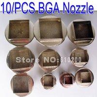 Cheap Free shipping!(10 pcs set)2013 New BGA nozzle 850 852 SMD hot air station Dedicated 850 Hot air desoldering station 45*45mm.....