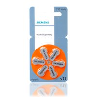 battery for siemens - 6 SIEMENS High Performance Hearing Aid Batteries Zinc Air A13 PR48 Battery for BTE Hearing aids Buy now