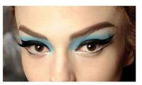 Wholesale New Tattoo eye stickers winged eye liner tattoos shadow makeup eyeliner tatoo stickers beauty styles can choose Eyeshadow Tattoos pairs