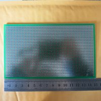 Wholesale Stripboard Veroboard x15cm uncut joint hole FR4 Fibreglass pcb circuit board Printed Tinned Plated Circuit Board new