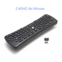 Wholesale 1Pcs New Gyroscope T6 Mini G Wireless Fly Air Mouse Keyboard Remote Control D Sense Motion Stick For PC Smart TV Box