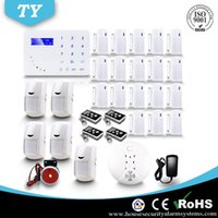 auto dialer gsm home alarm - High Quality Touch Keypad Home Wireless Security GSM Alarm System with Auto dialer APP DHL