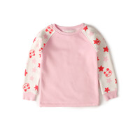 Wholesale GOTS Certificate organic cotton pullover baby fleece printing sleeves plant dye long johns