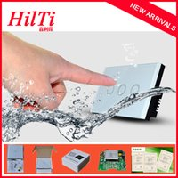 american screen glass - China Hilti High Quality Crystal glass screen Wall Switch for Residential Projects American Brazil Australia Gang Way Wall Light Switch